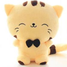 "Cute Cat Yellow Plush 7""  - Kawaii Cat Plushie - Super Soft Animal Toy"