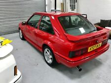 Ford escort RS TURBO red edition