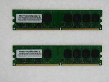 Mémoires RAM DDR2 SDRAM Samsung avec 2 modules