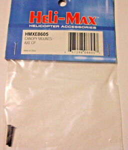 HELI-MAX Canopy Mounts HMXE8605 Axe CP Helicopter RC Part
