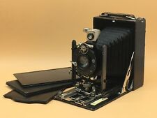 Goerz Tenax Folding Plate Camera With Plates & Ground Glass Back