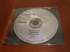 00-03 BMW 745 740 540 M5 X5 NAVIGATION DISC CANADA BC ON QC AB  NAVTECH CD MAP 8