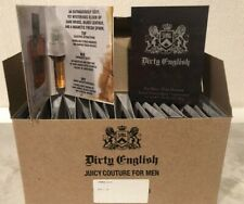 Dirty English Juicy Couture For Men 24 Vials Travel Size