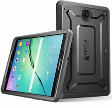 [Heavy Duty] Case for Samsung Galaxy Tab S2 9.7 Tablet Black/Black