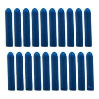 Dimple 20 Pc Set Foam Toy Dart, Refill Pack Blue