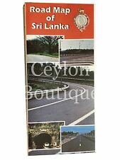 Sri Lanka Road Map Scale With 1:500,000 - Ceylon Map