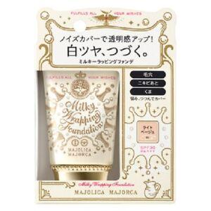 Shiseido Majolica Majorca Milky Wrapping Foundation SPF30 PA++++ new in box