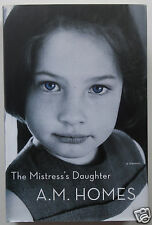 THE MISTRESS'S DAUGHTER Memoir by A.M. Homes, Adoption Family Identity Self HCDJ