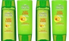 Garnier Fructis Sleek & Shine 2 Shampoo + 2 Conditioner 3 oz Travel Personal...