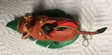 PUMBAA & TIMON DISNEY'S LION KING GROLIER PRESIDENT'S EDITION CHRISTMAS ORNAMENT