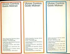COMTOIS Ulysse, XXXIV Esposizione Biennale Internazionale d'Arte Venezia 1968