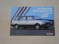 52540) Mitsubishi Space Wagon - Colt - Lancer - Tredia Prospekt 1983