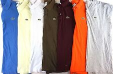 Lacoste Lot of 7 Men's 100% Cotton Short Sleeve Polo/Tee Shirt XXL EUR 7