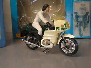 BMW R100 RS Matchbox Superkings Motorcycle in Original Box Polizei Bike Model OK