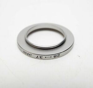 28-37mm Step Up Stepping Ring Lens Filter Thread Adapter 28mm 37mm