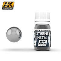 AK INTERACTIVE XTREME METAL STAINLESS STEEL 30ml COD.AK670
