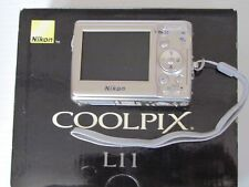 Nikon COOLPIX L11 6.0 MP Digital Camera - Silver
