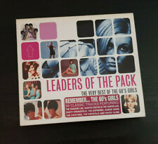 CD DOUBLE ALBUM - LEADERS OF THE PACK - THE VERY BEST OF THE 60'S GIRLS