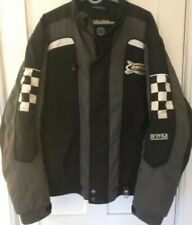 Ski-Doo Racing Bombardier Men'Jacket Heavyweight. Black & Grey Size L