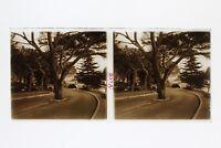 Nice Virage Francia Foto Stereo Placca Da Lente Vintage