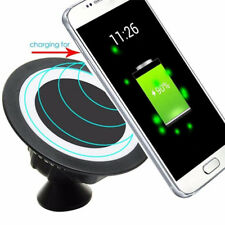 Universal Sticky Wireless QI Phone Charger Air Vent Car Charging Mount Holder