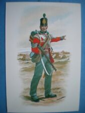 POSTCARD BMU 12 SERGEANT - LIGHT COMPANY THE 7TH (OR ROYAL FUSILIERS) REGIMENT O