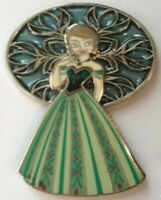Disney Pin 103818 DSSH Spherical Window Anna FROZEN princess green gown LE 400