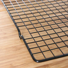 Stainless Steel Grid Wire Cookies/Cake Bread Cooling Rack Safe Oven Baking Tools