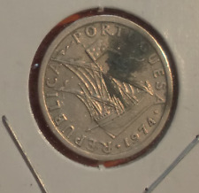 1 escudo 1974 Portugal, very nice coin
