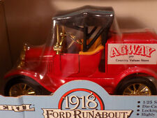 Vintage Ertl # 9195 1918 Ford Runabout AGWAY STORE A02 NOS MIB