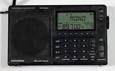 Grundig G3 Globe Traveler AM-FM-SW Radio with many features