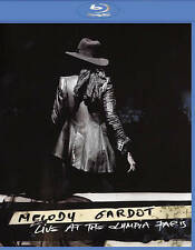 MELODY GARDOT: Live at the Olympia Paris (Blu-ray Disc, 2016) NEW/SEALED