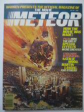 The Movie Meteor Offical Magazine 1980 Sean Connery Natalie Wood (M477)