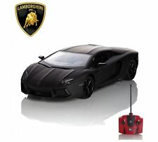 Rw RC Lamborghini Aventador Télécommande car 1 24 Noir - 124lbb