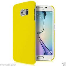 Cover e custodie giallo Per Samsung Galaxy S6 con un motivo, stampa per cellulari e palmari