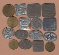 16 WILLIAMS BROTHERS TOKENS 3D TO 20/- IN GOOD FINE OR BETTER CONDITION