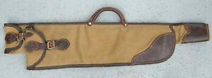 VINTAGE RED HEAD 656 CANVAS & LEATHER 1930-1940 TAKE DOWN RIFLE / SHOTGUN CASE