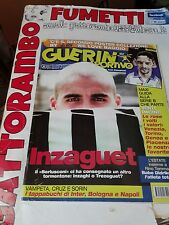 Guerin Sportivo n.35 con Trezeguet con poster anno 2000 - ottimo