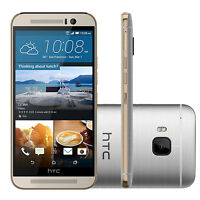 NEW HTC ONE M9 4G LTE - 32GB 20.0MP - (Silver) Unlocked Android Mobile Phone