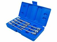 "7 Piece Extra Long Hex Bit Socket Set 3/8"" drive with case  - 3 4 5 6 7 8 10mm"