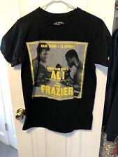 Muhammad Ali Vs. Joe Frazier Main Event Shirt Size Large