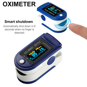 Professional Finger Pulse Oximeter Blood Oxygen Saturation Monitor Heart Rate WT