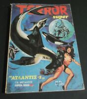 "VINTAGE RARE SUPER TERROR No#1 Greek Comics Magazine October 1978 ""ATLANTIS 2 """