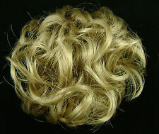 Scrunchie #25 Golden Blond Hair Ponytail Holder Wig America Mona Lisa Synthetic