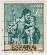 (SPB67) 1969 SPAIN 50c green ow1969