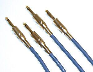 8m  Lautsprecher Kabel Boxen Kabel 2x Klinke 2 Stück je 8m lang 2x 1,5 qmm
