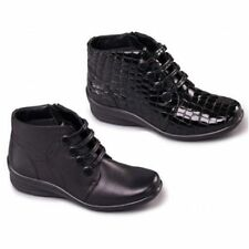 Zip Ankle Boots Wide (EE) Court Shoes for Women