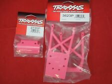 TRAXXAS STAMPEDE VXL / XL-5 PINK  skid plates + front bumper  2wd 3623P 2735P