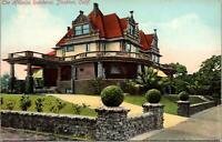 Stockton CA The Hillman Residence Postcard unused 1900s/10s