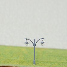 5 x N Scale Led light Model train Railroad street Lamp post + resistors #511NGR